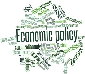 Word cloud for Economic policy