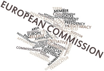 Word cloud for European Commission