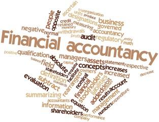 Word cloud for Financial accountancy