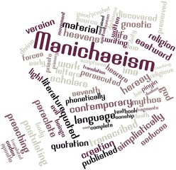 Word cloud for Manichaeism