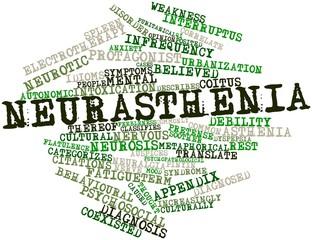 Word cloud for Neurasthenia