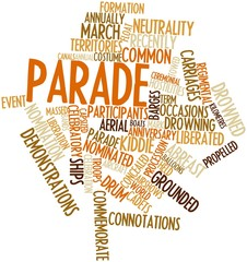 Word cloud for Parade