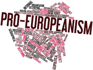 Word cloud for Pro-Europeanism