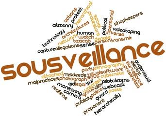 Word cloud for Sousveillance