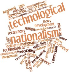 Word cloud for Technological nationalism