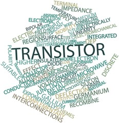 Word cloud for Transistor