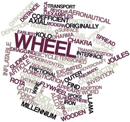 Word cloud for Wheel