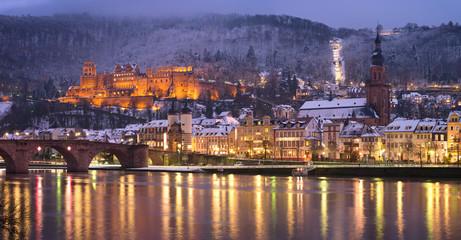 Fotomurales - romantische Altstadt