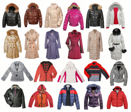 collection of jacket