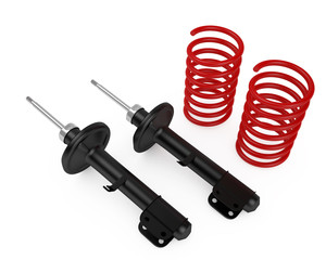 Shock absorbers and springs