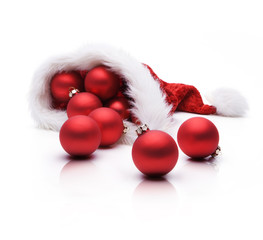 Weihnachtskugel in niklausmütze