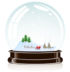sphere Christmas toy