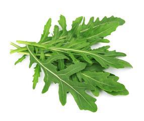 Leaves of the rucola salad