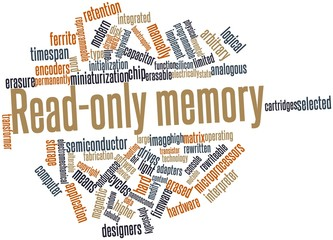Word cloud for Read-only memory