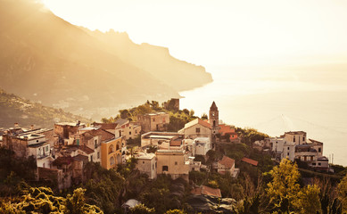 Photo sur Aluminium Cote Ravello, Amalfi Coast, Italy.
