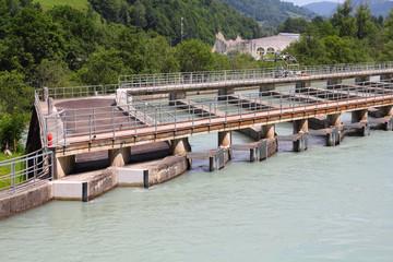 Water power plant in Austria