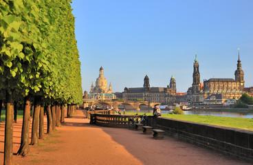 Dresden,Blick auf die Neustadt