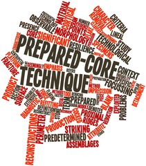 Word cloud for Prepared-core technique