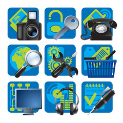 Website and internet icons 1
