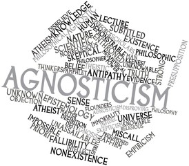 Word cloud for Agnosticism