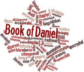 Word cloud for Book of Daniel