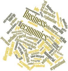 Word cloud for Business economics