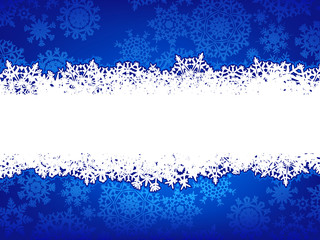 Blue Christmas Background. EPS 8