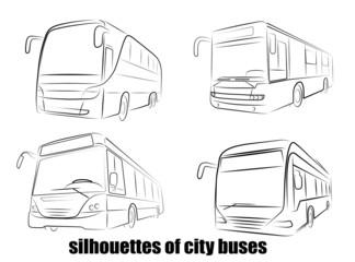 bus silhouette