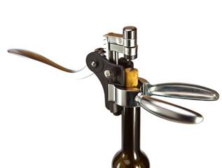 corkscrew opener for wine bottles..