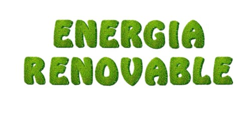 Energía renovable.