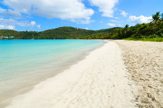 Magens Bay beach. St. Thomas, USVI