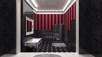 Lucxurious modern bathroom