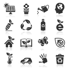 Ecology icons set2. vector illustration.