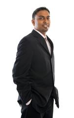 Confident 30s Indian businessman