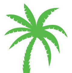 Palm Three Silhouette