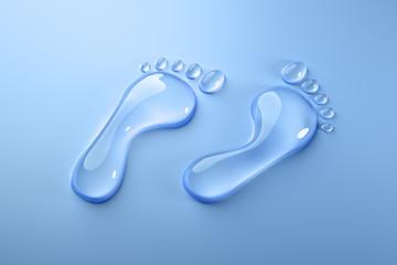Wasser-Fußabdruck