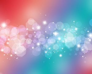 Starry lights background