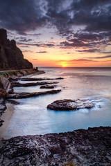 Crépuscule au Cap La Houssaye - La Réunion
