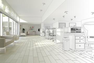 Office Interior (construction)