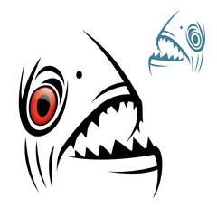 Piranha head