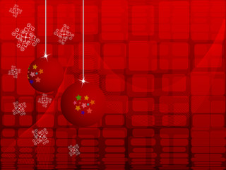 Vector abstract New Year background