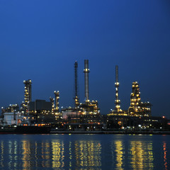 Oil petroleum plant