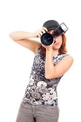 Female photographer portrait