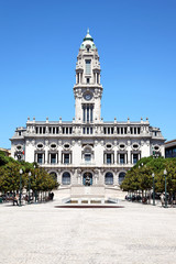 Rathaus von Porto, Portugal