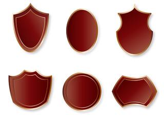 czerwone ikony