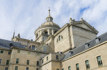 Royal Monastery of San Lorenzo de el Escorial. Madrid, Spain.