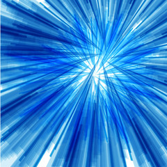 blue striped abstract background