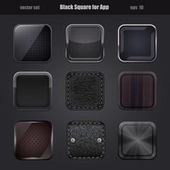 black square for app