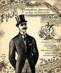 le marié 1900