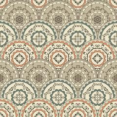 Vector Seamless Vintage Oriental Pattern
